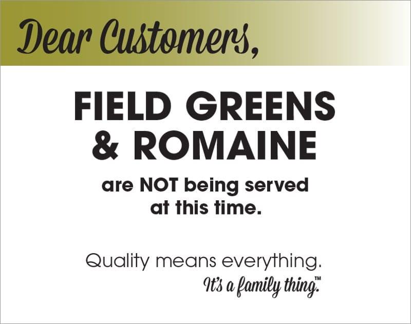 Field Greens & Romaine Recall - PDF - Alphabet Soup, Inc