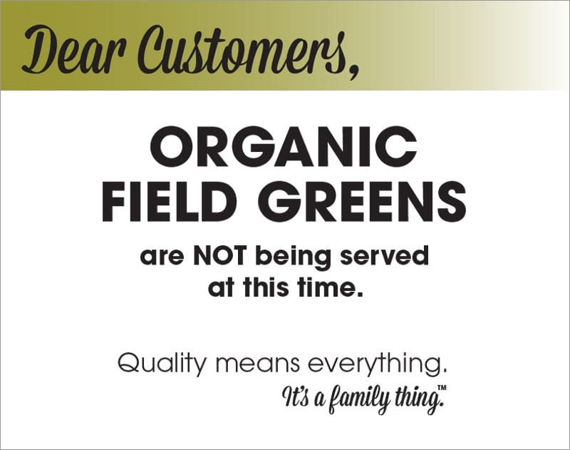 Organic Field Green Recall - PDF - Alphabet Soup, Inc